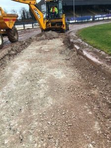 28 February 2018  POOLE TRACK RELAID FOR 2018